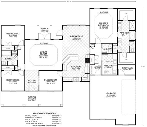 hillcrest b floor plans southwest homes