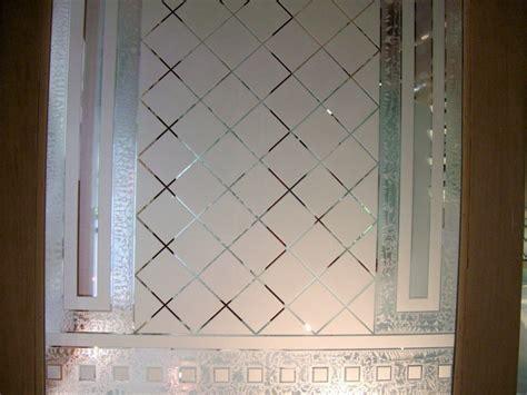 Glass Insert For Door by Geo Lattice Glass Door Inserts Sans Soucie