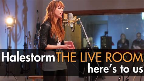 Halestorm Live Room by Halestorm Quot Here S To Us Quot Captured In The Live Room