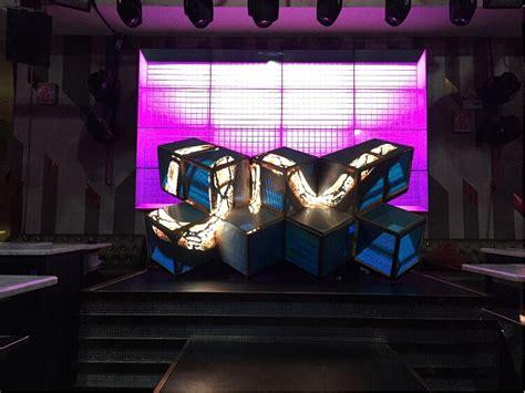 Led Pixel Dj Booth / Mixer Desk / Dj Facade For Nightclub