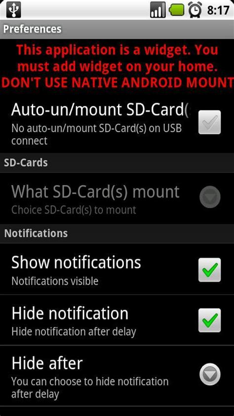 mount sd card android multi mount sd card free free android app android freeware