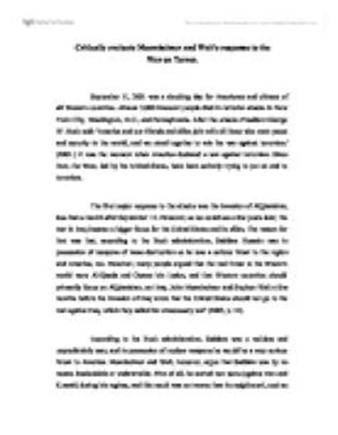 War On Terrorism Essays by Phd Thesis Terrorism