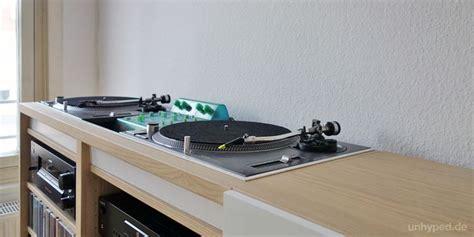 besta vinyl diy dj m 246 bel aus ikea s besta serie dj and dj table