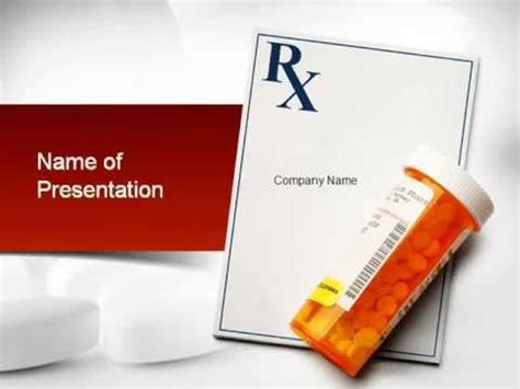 pharmacy powerpoint template by poweredtemplate com youtube prescription drugs rx powerpoint template youtube