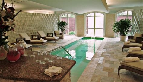 Trellis Spa The Houstonian the houstonian hotel trellis spa has a water theme starting with a float pool
