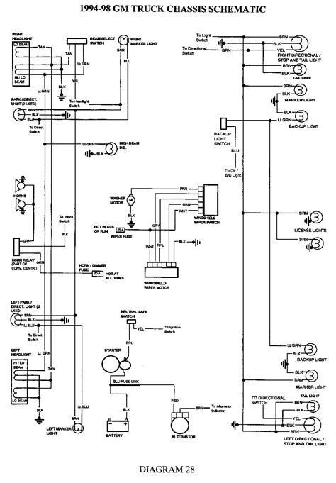Headlight Switch Wiring Diagram Chevy Truck | Free Wiring