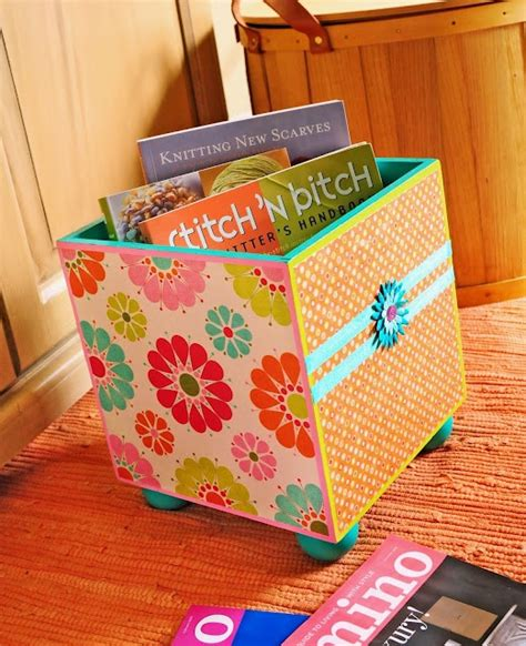 cute and easy to make diy storage boxes decozilla cute and easy to make diy storage boxes decozilla