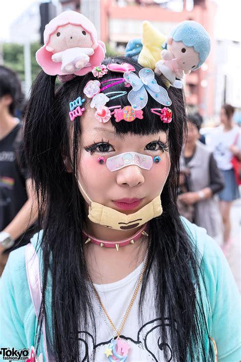 chic fashion hair styling clip decora fashion w doll eyeballs