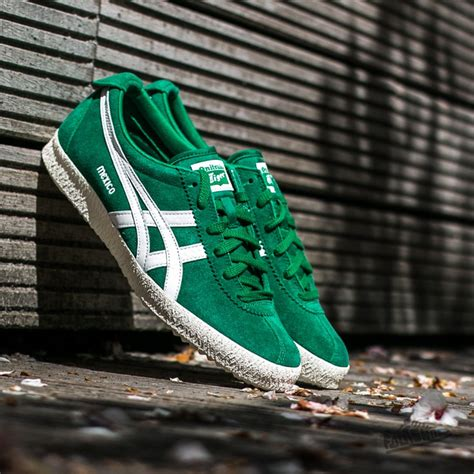Onitsuka Tiger Mexico Delegation onitsuka tiger mexico delegation green white footshop