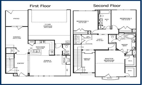 2 story floor plans with garage 2 story condo floor plans 2 floor condo in georgetown