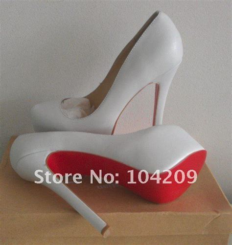 2012 white lambskin leather cheap daffoile 160mm pumps