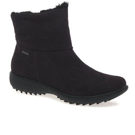 romika waterproof suede look ankle boot