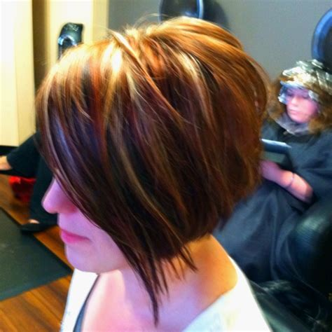 stacked sling haircut or sling haircut short sling bobs short hairstyle 2013