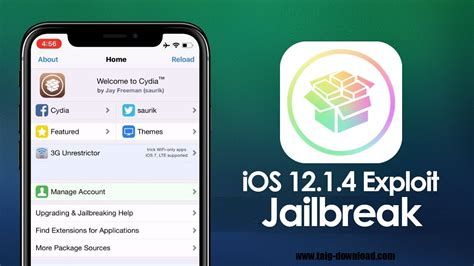 untethered ios 12 1 4 jailbreak update for iphone and devices