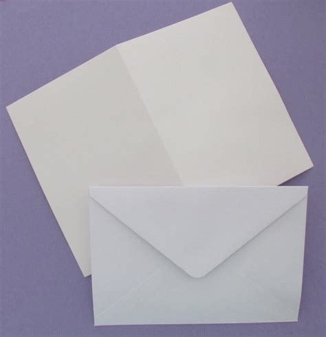 blank cards and envelopes for card 10 blank white a5 cards 250 gsm c6 envelopes for