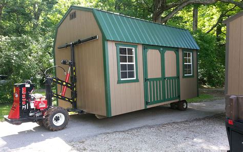 Mobile Shed by Building A Portable Shed For Storage Needs Can Help A Lot