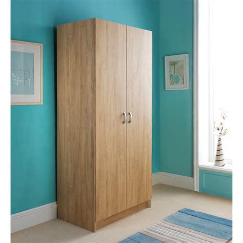 b m scandinavian 2 door wardrobe bedroom furniture