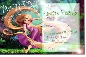 Make Your Own Wedding Invitations Online Rapunzel Birthday Party Invitation Ideas Bagvania Free Printable Invitation Template