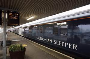 inaugural caledonian sleeper leaves fort william