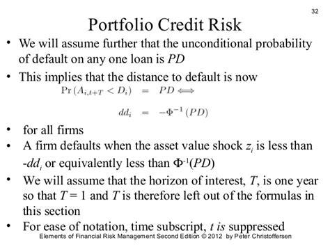 Credit Risk Management Formula credit risk management 2