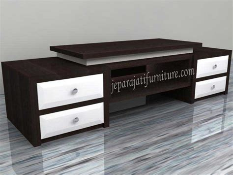 Meja Tv Simpel buffet minimalis meja tv jepara jati furniture