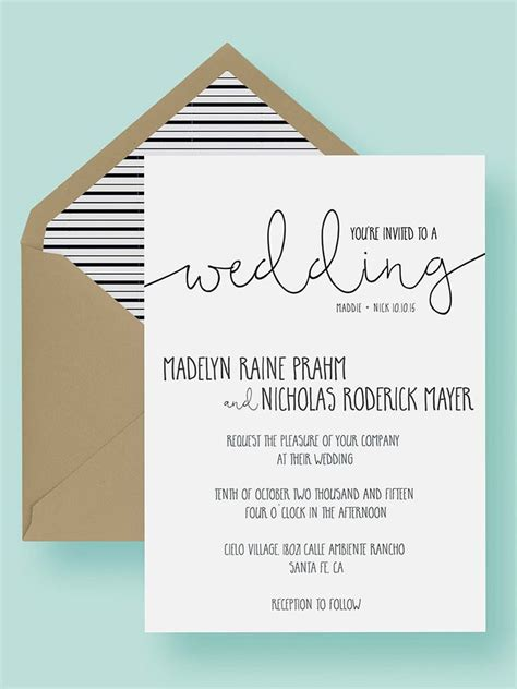 wedding reception invite sles 16 printable wedding invitation templates you can diy