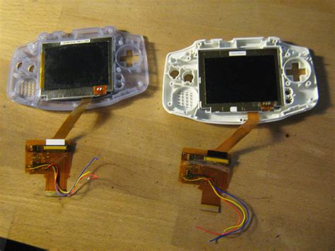 easy gameboy mod any purchase or mod a gba original with the new lit screen