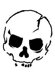 point blank tattoo skull stencil by gearwar