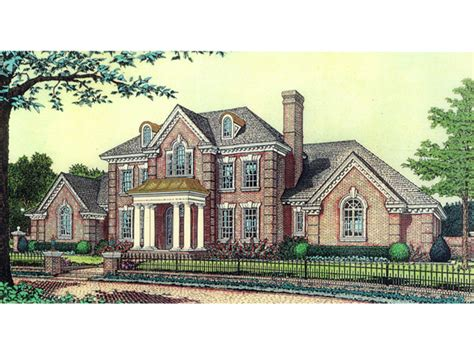 Colonial Luxury House Plans by Anssonnette Luxury Colonial Home Plan 036d 0174 House