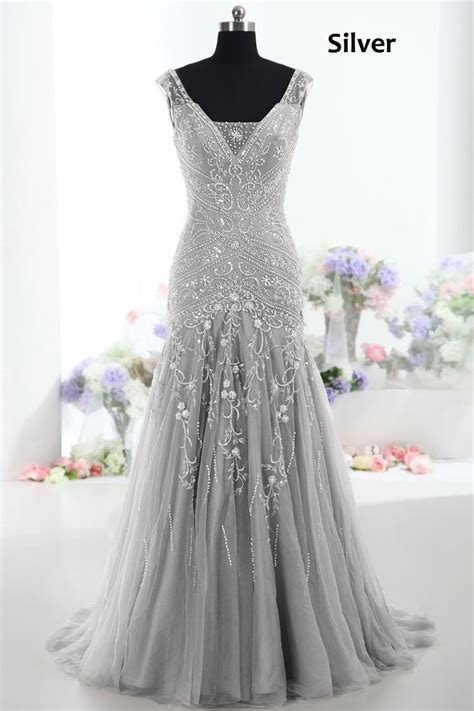 Silver Wedding Dresses by Best 25 Silver Wedding Dresses Ideas On