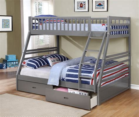 solid wood bunk beds twin over full bunk beds twin over full with space saving design fraser