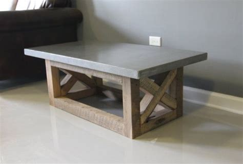 Concrete And Wood Coffee Table 1000 Ideas About Concrete Coffee Table On Concrete Furniture Coffee Table Design