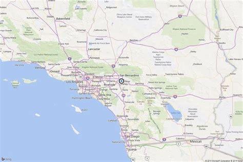 california map loma earthquake 3 4 quake strikes near loma la times