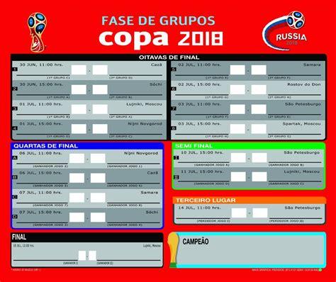 tabela da copa 2018 100 unidades completa r 61 90 em