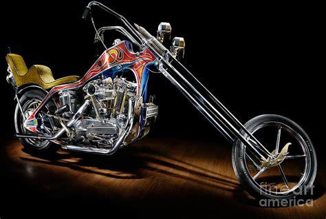 Harley Davidson Home Decor Evel Knievel Harley Davidson Chopper Photograph By Frank