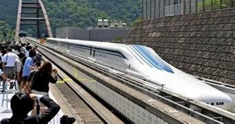 fast in japanese wordlesstech japan tests 310mph maglev train
