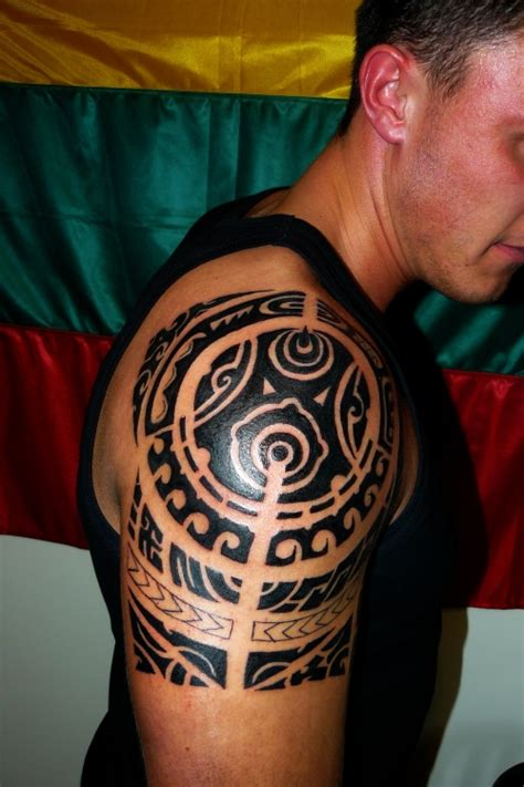 tribal tattoos on arm and shoulder 40 most popular tribal tattoos for