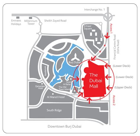 Dubai Mall Map Dubai Mall Map Images