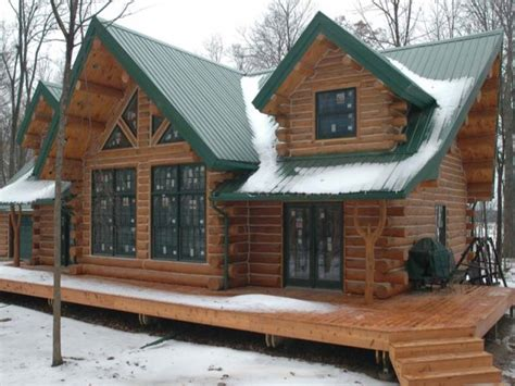 cabin designs log cabin modular homes log cabin home with metal roof