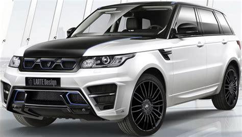 range rover sport modified larte design range rover sport winner extravaganzi