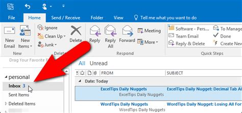 How To Search Unread Emails In Outlook How To Make Outlook Display The Total Number Of Messages In A Folder