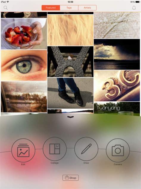 picsart ipad tutorial picsart photo studio app gets new stretch tool new masks