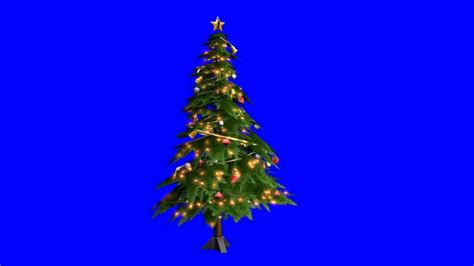 christmas tree green screen youtube
