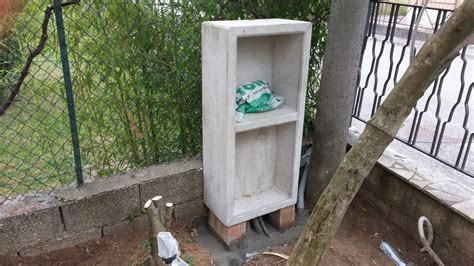 cassette per contatore enel la casetta per il contatore enel una casa da ristrutturare