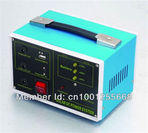 portable solar power generator for home use usb 5v output