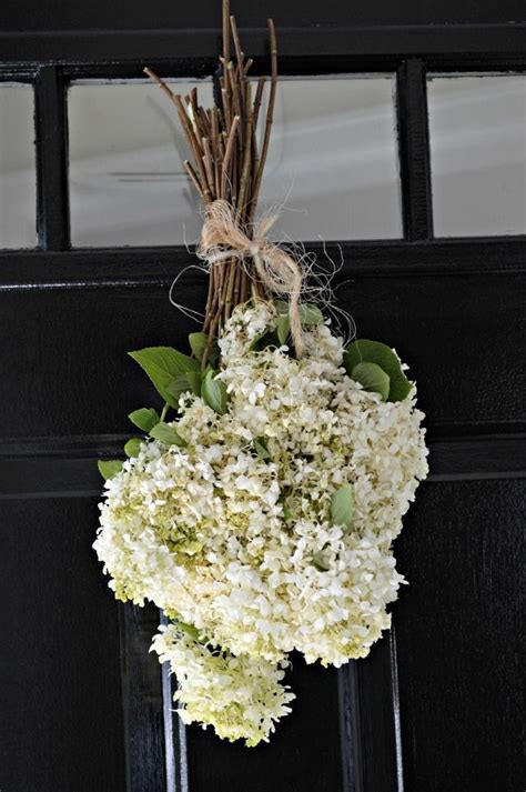 Dried Wreaths Front Door Dried Hydrangea Door Decor Wreath And Front Door Decor Hydrangea Doors And