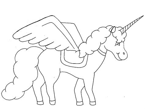 printable unicorn drawing free printable unicorn coloring pages for kids