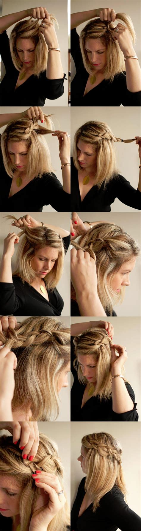 22 ways to make your hairstyle with braids pretty designs