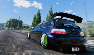 honda civic eg vti 94 delsol frontswap add on tuning
