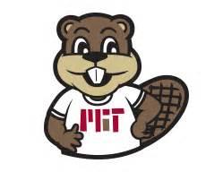 mit colors tim the beaver mit graphic identity